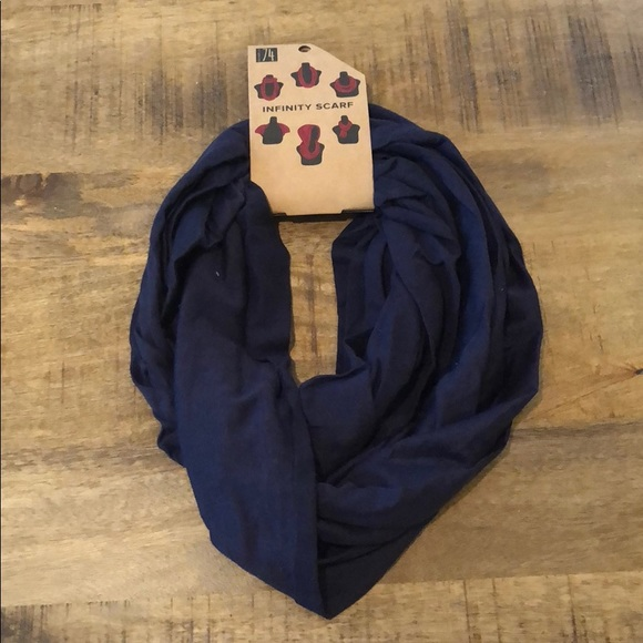 Studio 74 Accessories - LAST ONE Fall Navy Blue Infinity Scarf